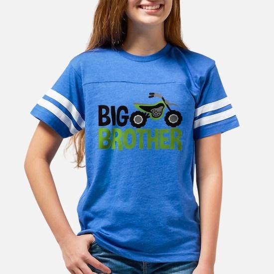 Motorcycle Big Brother Youth Football Shirt