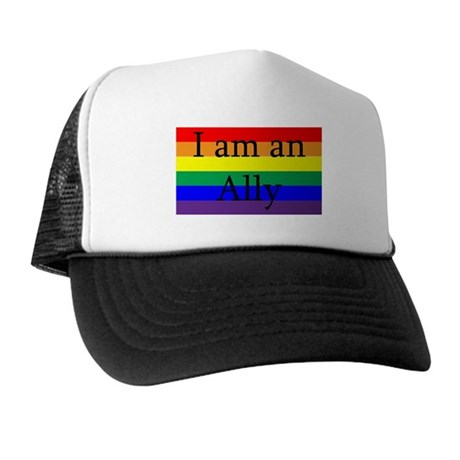 I Am an Ally Too Trucker Hat