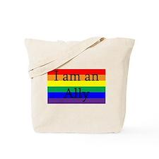 I Am an Ally Too Tote Bag