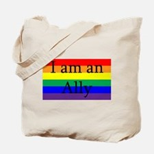 I Am an Ally Too Tote Bag
