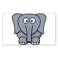 Cartoon Elephant Decal