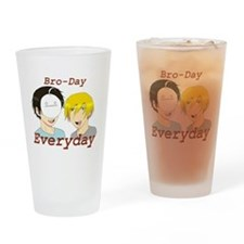 Bro-Day Everyday Pewdiecry T-shirt Drinking Glass