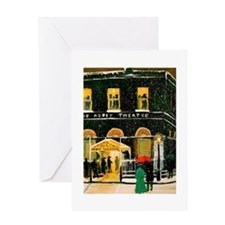 The Abbey Theatre Greeting Cards