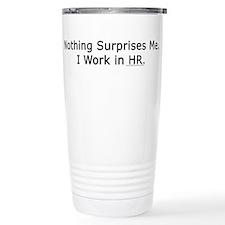 Funny Human resources Travel Mug