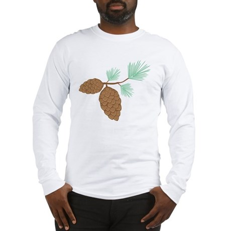 Pine Cone Long Sleeve T-Shirt