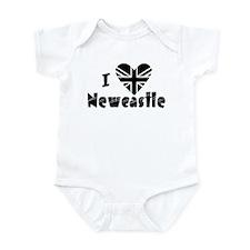 """""""I love Newcastle"""" Infant Bodysuit"""