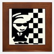 Little Rudy Framed Tile