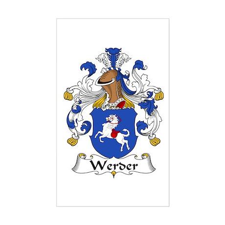 Werder Sticker (Rectangle)