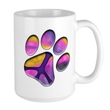 Peaceful Paws Giant Dog Rescue Service - Paw Print