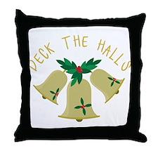 Deck The Halls Throw Pillow