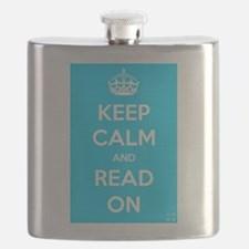 Keep Calm and Read On Flask