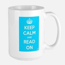 Keep Calm and Read On Mug