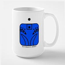 BLUE Magnetic MONKEY Mug
