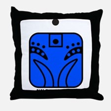 BLUE Magnetic MONKEY Throw Pillow