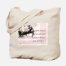 Quiet and Gentle spirit Tote Bag