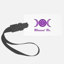 Blessed Be (Purple) Luggage Tag