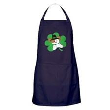 Irish Puppy Apron (dark)
