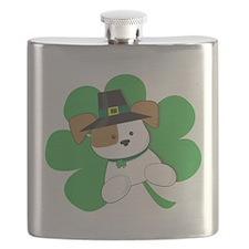 Irish Puppy Flask