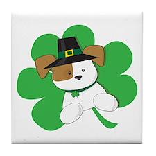 Irish Puppy Tile Coaster