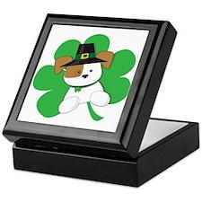 Irish Puppy Keepsake Box