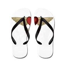 Adriana the Angel Flip Flops
