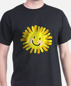 Sun Child Drawing T-Shirt
