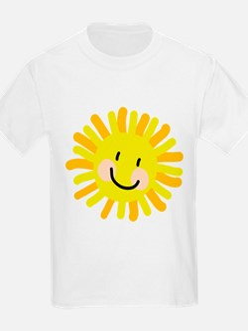 Sun Child Drawing T-Shirt