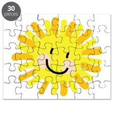 Sun Child Drawing Puzzle