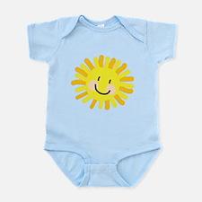 Sun Child Drawing Infant Bodysuit