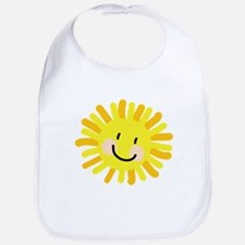 Sun Child Drawing Bib