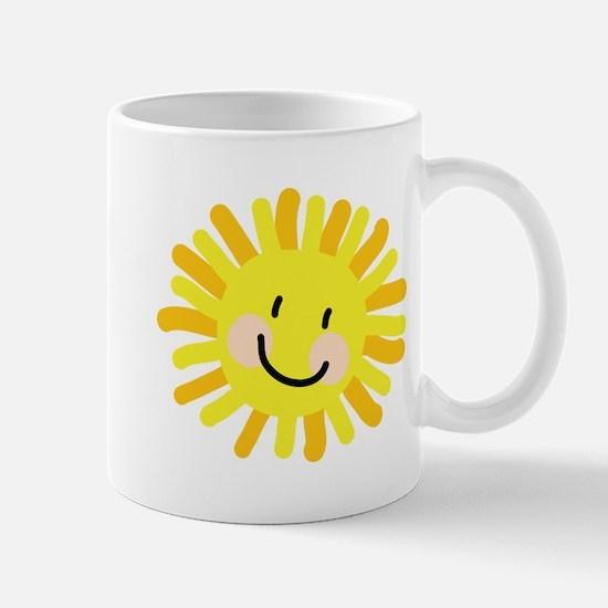 Sun Child Drawing Mug