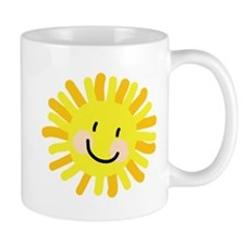 Sun Child Drawing Mug