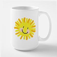 Sun Child Drawing Large Mug