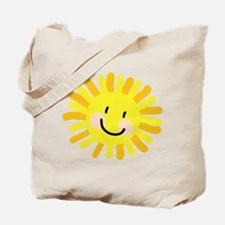 Sun Child Drawing Tote Bag