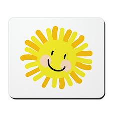 Sun Child Drawing Mousepad