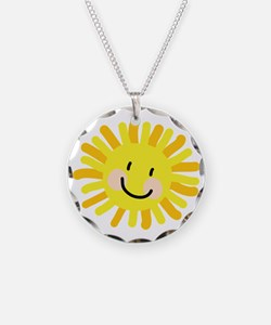 Sun Child Drawing Necklace