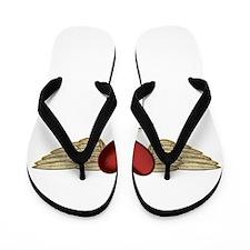 Aileen the Angel Flip Flops