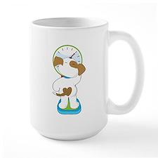 Puppy on Scale Mug
