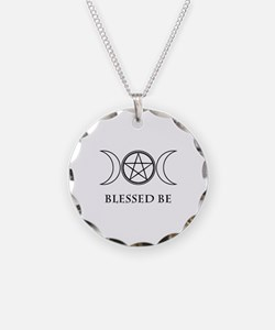 Blessed Be (Black & White) Necklace