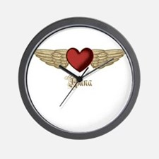 Alana the Angel Wall Clock