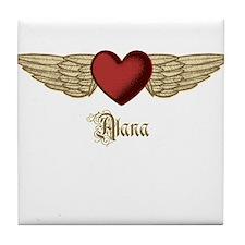 Alana the Angel Tile Coaster