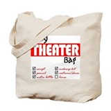 Theatre Canvas Tote Bag