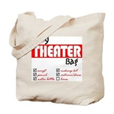 Cute Theatre Tote Bag