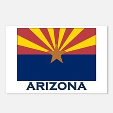 Arizona Flag Gear Postcards (Package of 8)