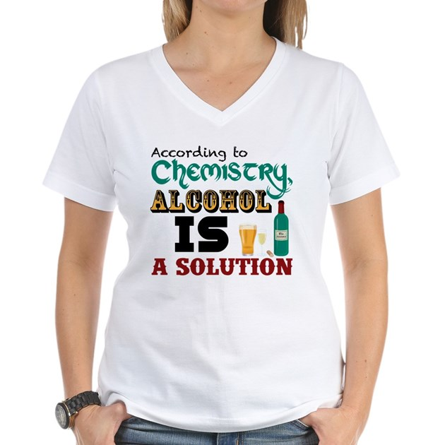 Alcohol is a solution t shirt by rudearseshirts - How to unshrink clothes three easy solutions ...