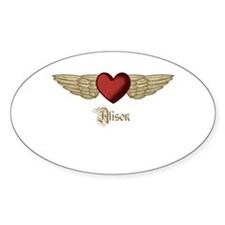 Alison the Angel Decal