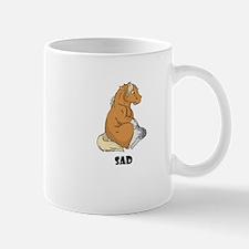 Sad little horse Mug