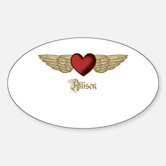 Allison the Angel Decal