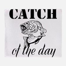Catch Of The Day Throw Blanket