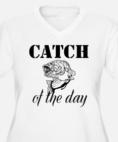 Catch Of The Day Plus Size T-Shirt